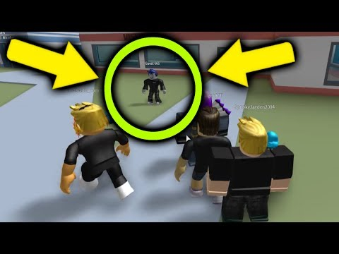 GUEST 666 JOINED MY ROBLOX JAILBREAK LOBBY... (SCARY)