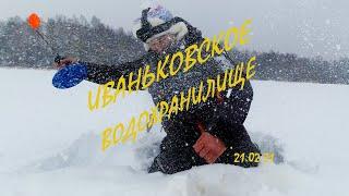 Щука СОШЛА С УМА в такой снегопад Опять отработал меляк Ловля щуки на жерлицы Иваньковское ВДХР