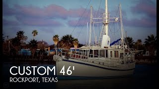 Used 2009 Custom 46 Diesel Duck for sale in Rockport, Texas