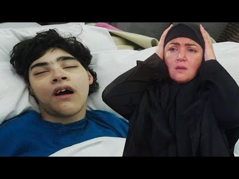 بعد نقله للمستشفى مها أحمد تفطر قلوب متابعيها بلقطات لابنها الأكبر من على سرير المرض