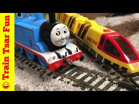 Thomas vs World's Fastest Train – TYCO Super Turbo Train