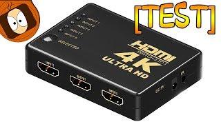 [TEST] SWITCH HDMI 4K - 5 ENTRÉES : LE RÊVE !
