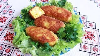 Картофельные котлеты с сыром вкусно и быстро Картопляні котлети Простые рецепты вкусные блюда