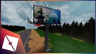 ROBLOX Studio | [SpeedBuild] Billboard Advertisement