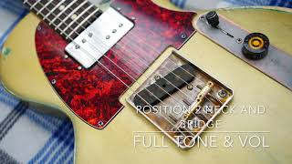 Warmoth Tonebomb Tele Paul Paulcaster SP6 Fano clone Gold Teal Fender Tex Mex
