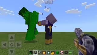 Thanos Vs The Hulk In Minecraft PE