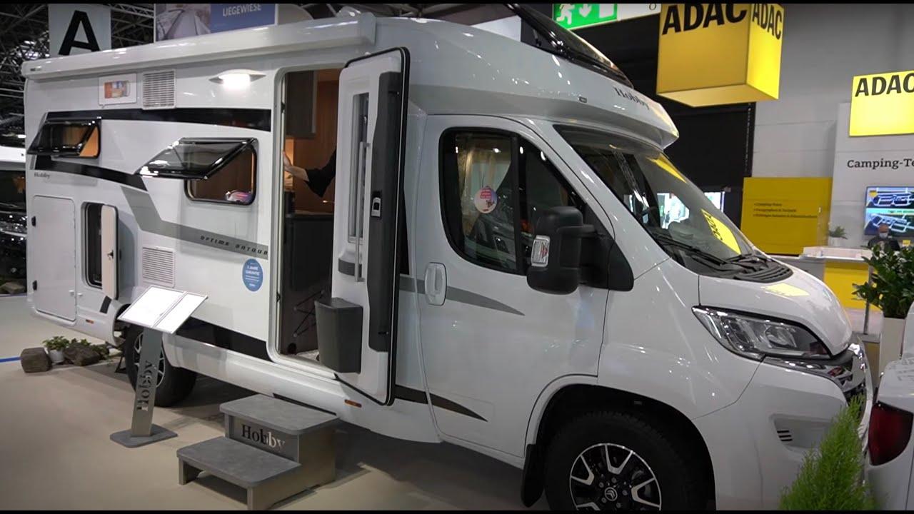 Günstiges Wohnmobil für enge Straßen: Hobby Optima Ontour Edition V8 GE  8 Caravan Salon 8