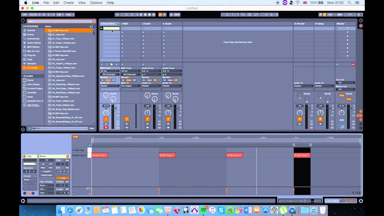 ableton live 9 - tutorial for absolute beginners in 10 minutes