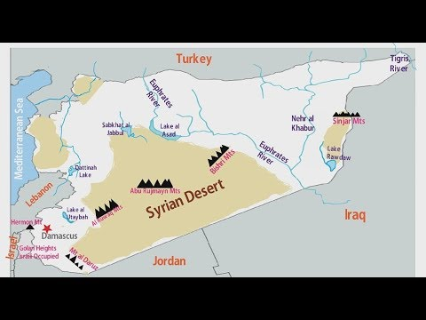 Physical Geography Of Syria