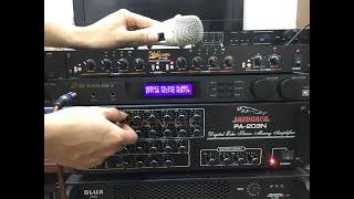 Nâng cấp Amply gia đình với Idol IP-100 và Vang số 3G Audio I Amply ghép Vang số. 0374684491