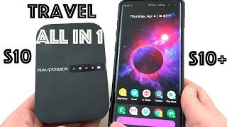 Must-Have Travel Accessory for Galaxy S10: RavPower FileHub!