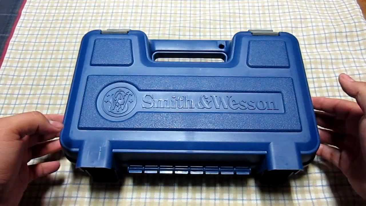 Smith And Wesson 12039 Unboxing: Unboxing: Smith & Wesson M&P 9mm