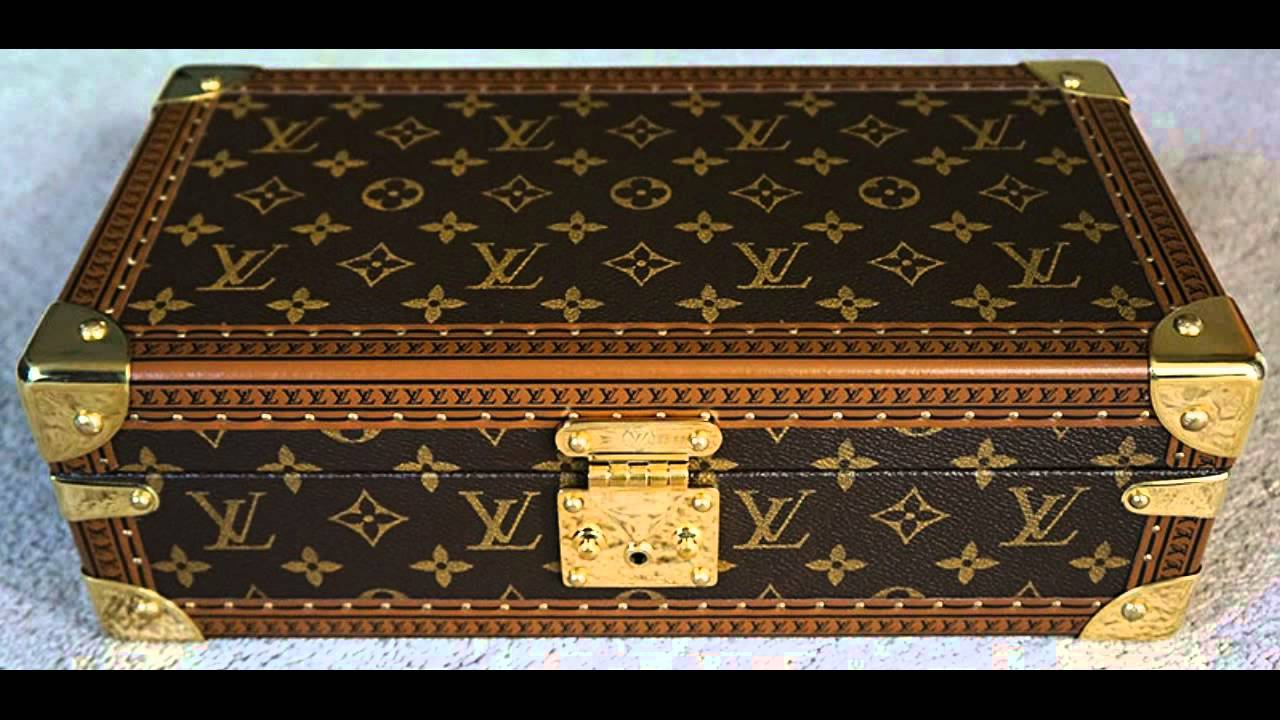 Louis Vuitton Luxury Wrist Watch Display Box Travel Case