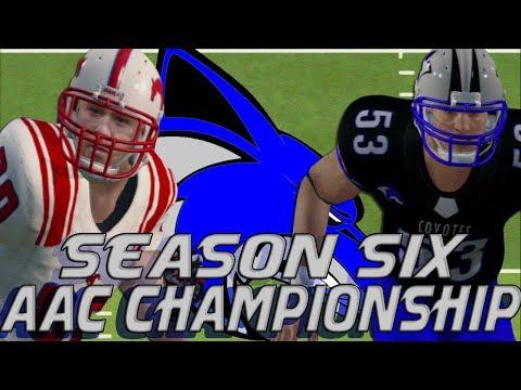 NCAA Football 14 | Sanford College Dynasty | Season 6 AAC Championship: VS SMU