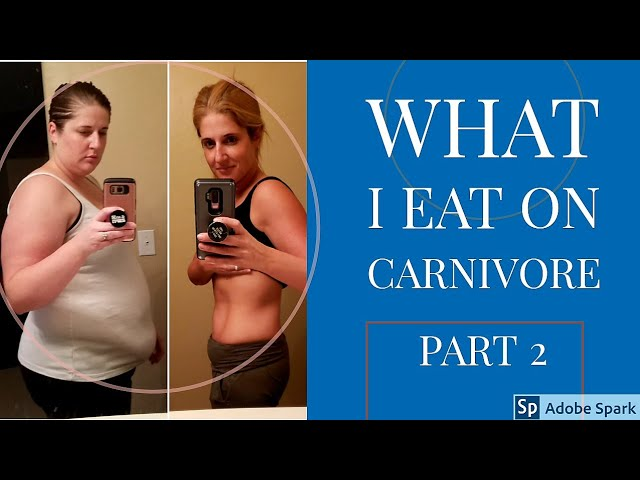 Carnivore Diet What I Eat A Month Of Meals Part 2 Youtube
