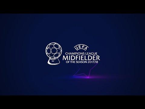UEFA Champions League MIDFIELDER of the Season 2017/18 shortlist