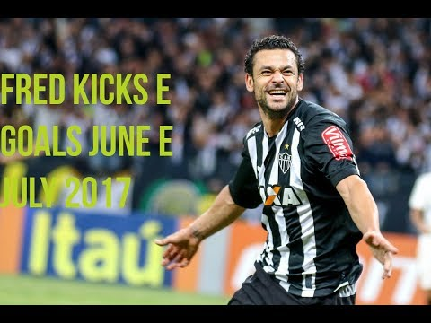Fred ● Skills Kicks & Goals ● June & July ● Atlético Mineiro ● 2017