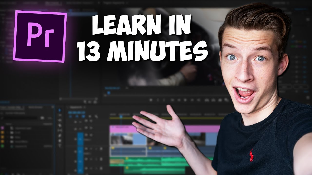 Download Premiere Pro Tutorial for Beginners 2021 - Everything You NEED to KNOW!