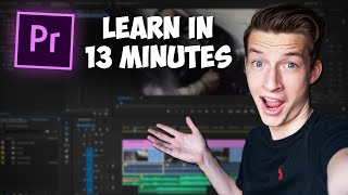 Premiere Pro Tutorial f๐r Beginners 2021 - Everything You NEED to KNOW!
