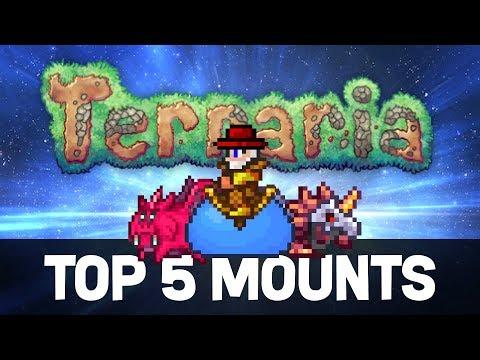 Top 5 Mounts in Terraria (2018 Update!)