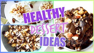 CHEAP + QUICK AND EASY HEALTHY DESSERTS TO TRY DURING YOUR PERIOD