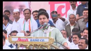 jyotiraditya scindia speech during MP Congress' Vidhan Sabha gherao 04/sunil shrivastava/ind24