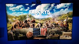Farcry 5 on Xbox one X and Samsung 4K HDR TV