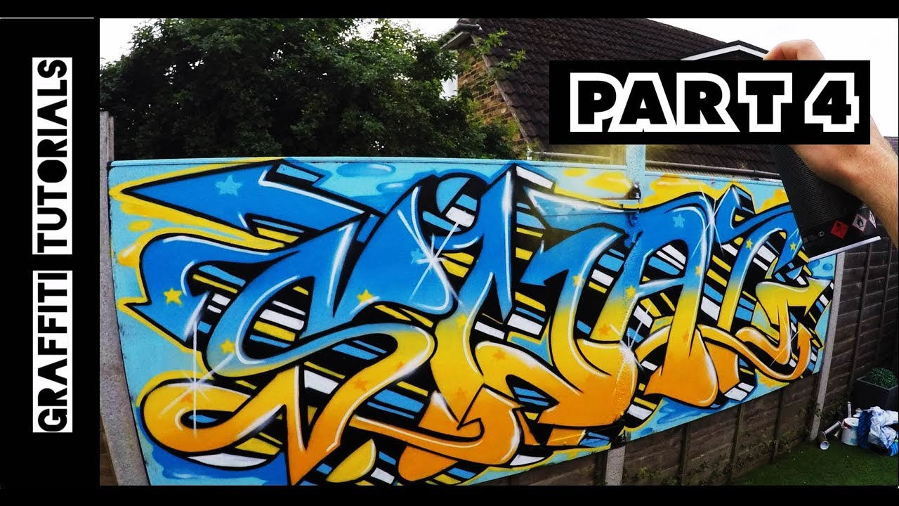 How to graffiti with spray paint part 4 graffiti tutorials