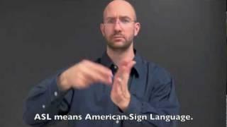 The Origin Of Asl - A Brief History