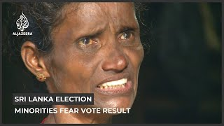 Sri Lanka election: Minorities fear vote result