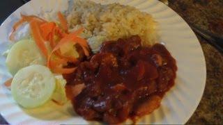 Como Hacer Carne De Res Con Chile Rojo:::comidas Faciles