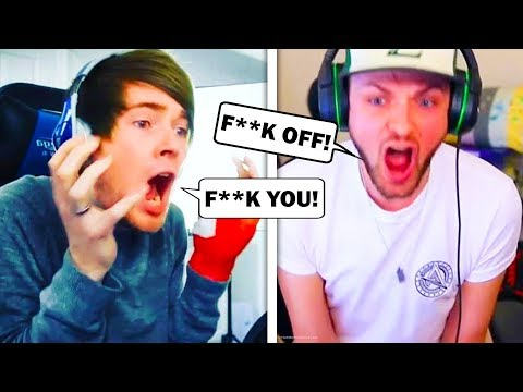 5 CLEAN YouTubers CURSING! (DanTDM, SSundee, Crainer, PopularMMOs, Ali-A)