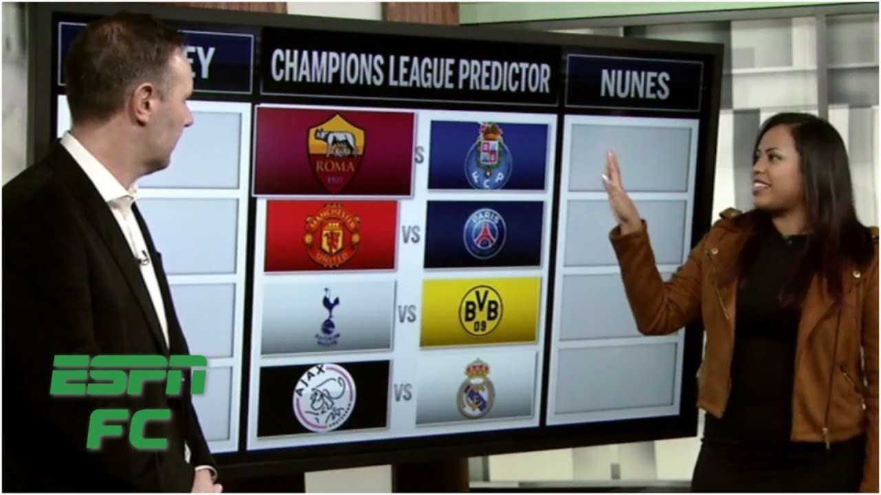 Champions League round of 16 predictions: Man United vs  PSG, more |  Champions League Predictor