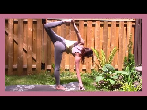 Yoga Flow Side Body Stretch & Strength (with cats!) - 25 min Class