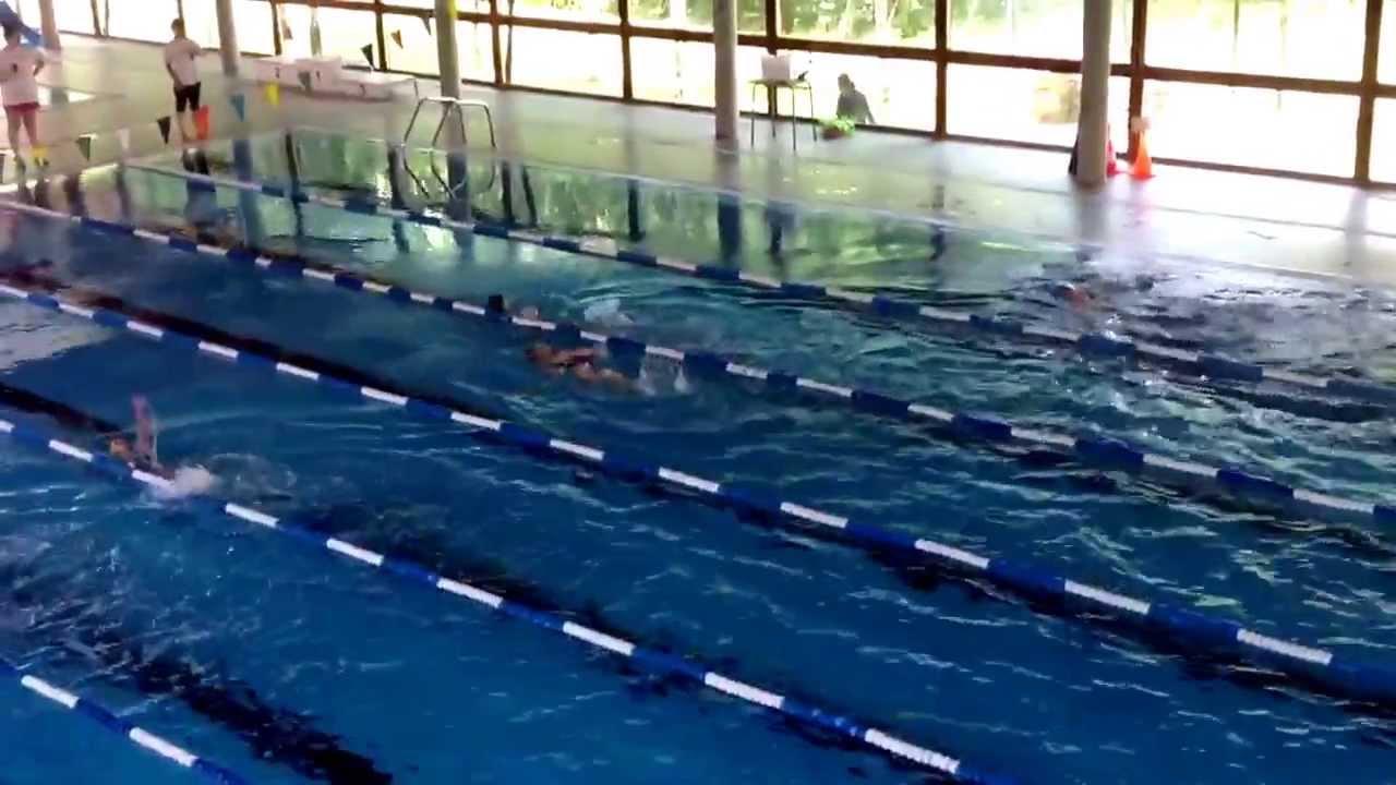 Competici n espalda fin de curso piscina youtube for Curso piscinas