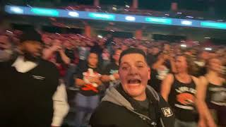 Sold Out AEW Arena Sing Judas by Fozzy Chris Jericho Connecting People Through Wrestling Revolution YouTube Videos