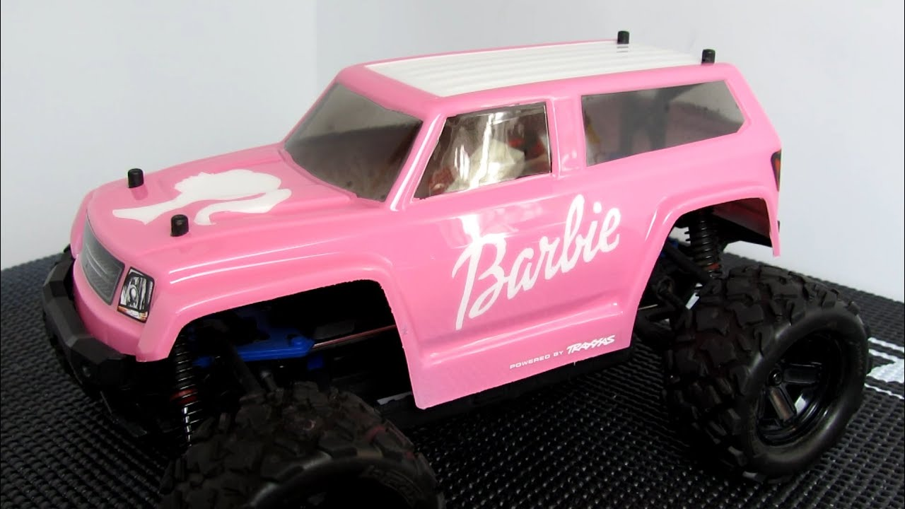 RC Project 4 Barbie RC Car Custom Traxxas LaTrax Teton