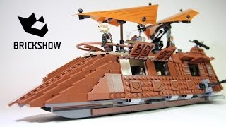 Lego Star Wars 75020 Jabba's Sail Barge Build & Review