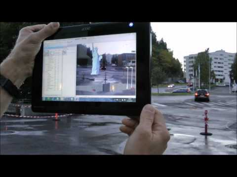 Augmented Reality i Sandvika by Vianova Systems