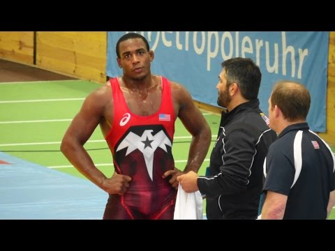 Freestyle Wrestling 86kg - Cox (USA) vs Berdiyev (KAZ)