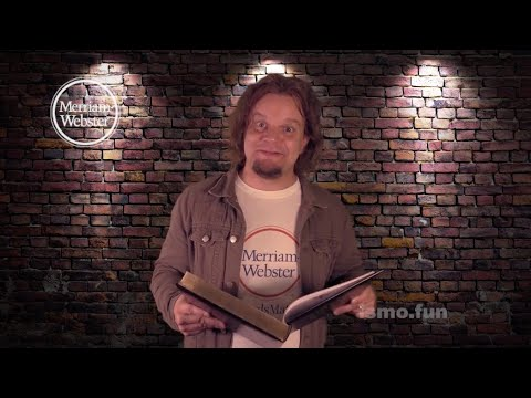 """Some Odd Words with ISMO: """"People Tipping"""" - Merriam-Webster Mp3"""