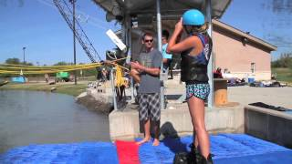 How to Wakeboard. Hydrous Cable Wake Park of Allen Station VIDEO for FIRST TIMERS