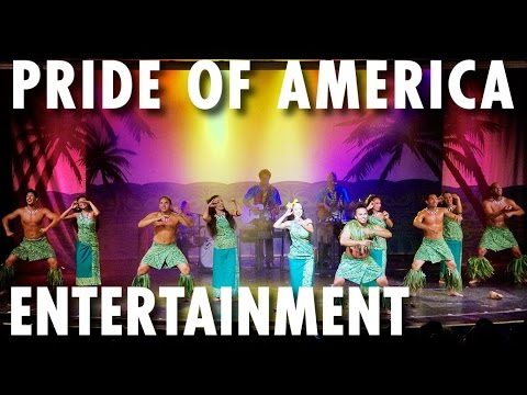 Pride of America Tour & Review: Entertainment ~ Norwegian Cruise Line ~ Cruise Ship Tour & Review