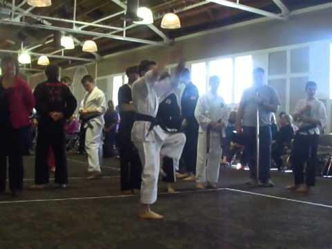 Maxx Stanton MN State Karate Tournament 2014