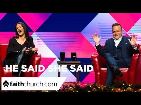 He Said She Said - Pastors David & Nicole Crank