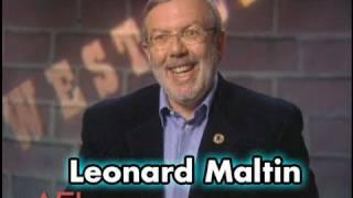 Leonard Maltin On THE SEARCHERS