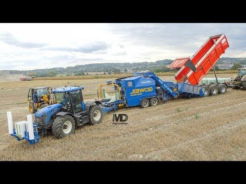 🔵JCB Fastrac Blue | Goweil Variomaster | Enrubannage Maïs épis | Agri-Sovet