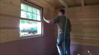 Paneling My Tiny House Living Room Wall Continued S19