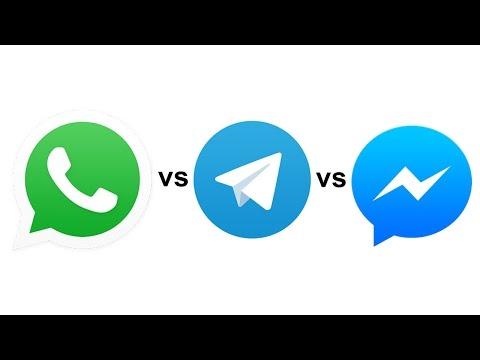 WhatsApp vs Facebook Messenger vs Telegram : Ultimate Comparison || Pastimers