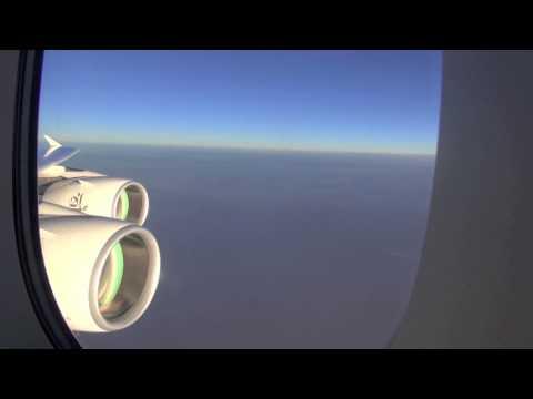 Emirates A380 / New York JFK to Dubai / Part 4 of 5 (HD Video)